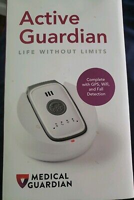 ACTIVE GUARDIAN Complete w/ GPS, Wifi, and Fall Detection Medical Guardian Belle