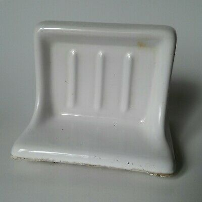 Vintage Porcelain Wall Mounted Soap Holder