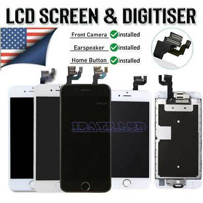 For iPhone7 6 6s Plus 6 SE LCD Display Complete Screen Digitizer Home Button LOT