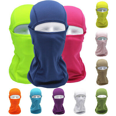 Tactical Motorcycle Cycling Hunting Outdoor Ski Full Face Mask Helmet Balaclava