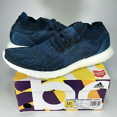 47777861a83db NEW Adidas Ultra Boost Uncaged Parley Size 12.5 blue BY3057 night navy 1 2  3 4