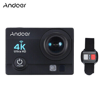 Andoer Q3H-R 4K 30fps 16MP WiFi Sports Action Camera 1080P Full HD 170°