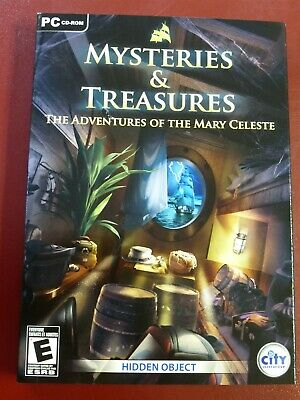Video Game PC Mysteries & Treasures The Adventures of the Mary Celeste NEW SEAL
