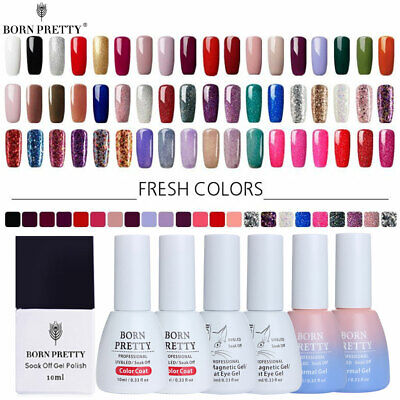 BORN PRETTY 10ML Nail Art Colorful UV Gel Nail Polish Semi Permanent Varnish DIY