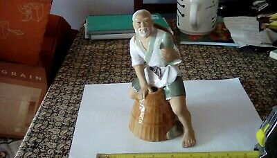 Chinese Mudman Fisherman Figurine