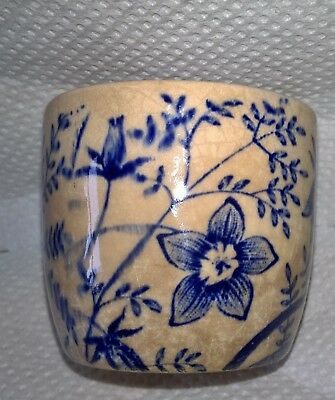 18th cent hand painted  old Chinese sake cup