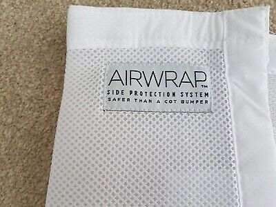 Airwrap two sided mesh breathable cot bumpers