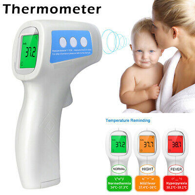 Non Contact Thermometer Digital Baby Infrared Fever Temperature Measure Tool