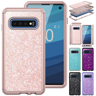 For Samsung S10e S9 Plus Note 9 Case Heavy Duty Rubber Shockproof Bumper Cover