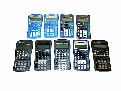 Texas Instruments Ti-30xa Scientific Calculator Lot Of 4 Office Calculators