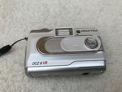 Praktica Dcz 6 Vr 6.0 Mega Pixels Camera Wth Bag , Full Working Order.
