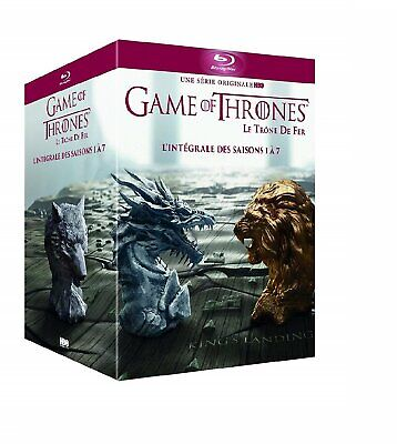 Game Of Thrones -Seasons 1-7 1 2 3 4 5 6 7 NEW Bluray All Region 34 Disc Box Set