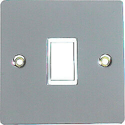 Single Light Switch Metal Dencon 10A 1 Gang 2 Way Switch High Quality Fast Post