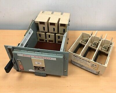 GEC Miniform ALSTHOM CM Fuse Switch 200Amp with CM-MT Fuse Carrier 200 Amp GE