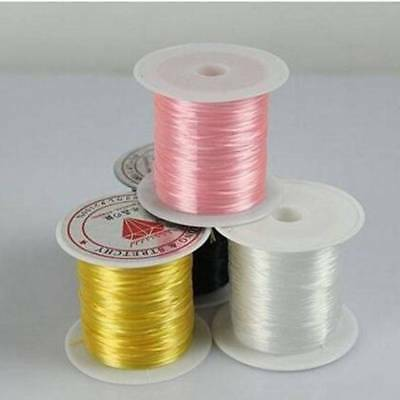 10m Strong Stretchy DIY Beading Elastic Crystal String Cord Wire Thread Rope