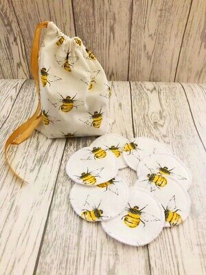 Reusable Make Up Pads, Face Wipes with Wash Bag
