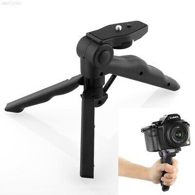 9B9A New Portable 2 in 1 Handheld Grip Mini Tripod for Digital Camera Camcorder