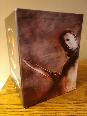 Halloween: The Complete Collection (Blu-ray Disc, 2014, 15-Disc Set, VERY RARE