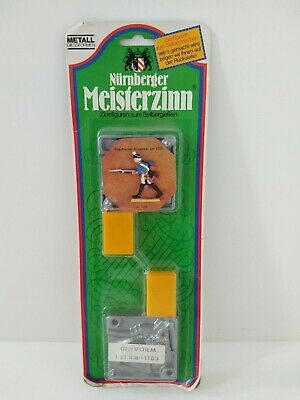 Nurnberg Meisterzinn 1103, Pewter Casting Mould, Prussian Musketeer, New in box