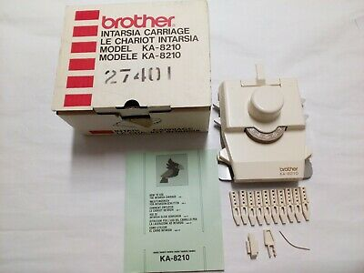 Brother Intarsia Carriage Model KA-8210