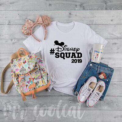 Disney Squad - Matching Family Friends T-Shirts WDW Mickey Mouse Florida Holiday