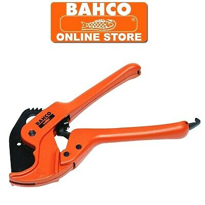 BAHCO 42mm RATCHET PIPE TUBE CUTTER CUTS PLASTIC PVC,PEX,PP,PB,PVDF, PE, 311-42