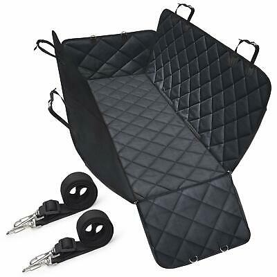 Dog Car Seat Covers with Side Flaps, Nonslip Backing, Waterproof & Scratch Proof