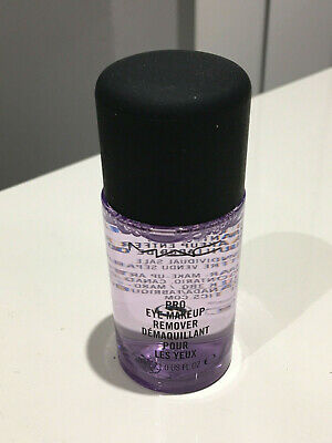 Mac Pro Eye Make Up Remover Travel Size Bottle 30Ml 100% Genuine Hard To Find