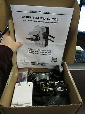 NEW KUSSMAUL AUTO EJECT EJECTOR 091-18WP-012 09118WP012 12VDC 15  AMP A 15A 15WP