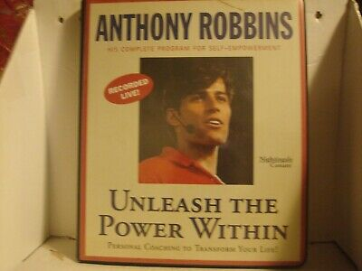 Unleash The Power Within Anthony Robbins Program For Self-Empowerment(Cassette)
