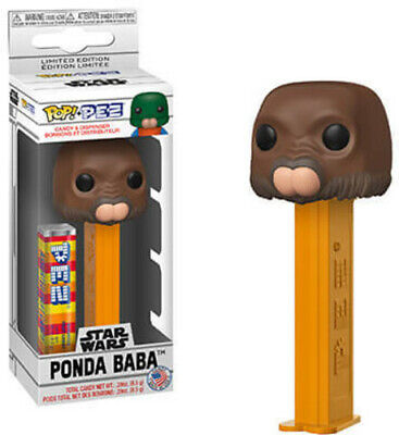 Star Wars - Ponda Baba (Walrus Man) - Funko Pop! Pez: (2019, Toy NUEVO)