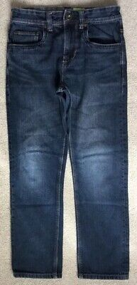 "NEXT Age 11 Years Straight Leg Jeans, Leg 24"". Excellent Cond"