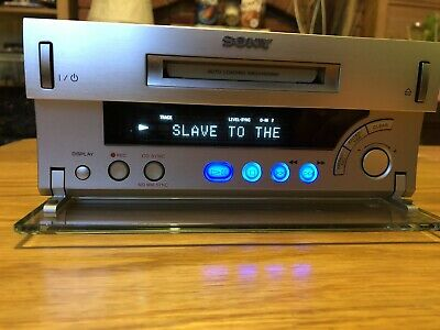Sony MDS-SD1 MiniDisc Deck MD Player / Recorder mini Hi-Fi Stereo Separate