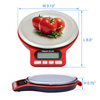 0.1gram Precision electronic Digital Balance Weight Pocket Scale 5/3kg LCD kit