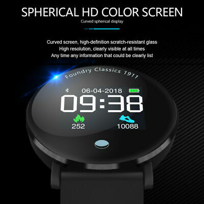Color Screen Sport Smart Watch Blood Pressure Heart Rate Monitor for iOS Android