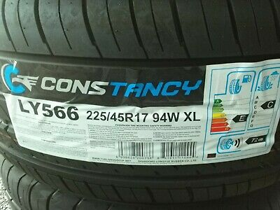 Brand new tyres 225/45/17 94W XL supply only or fitted at cost.