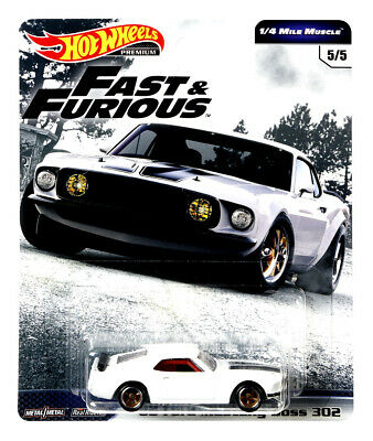 2019 Hot Wheels Fast & Furious 1/4 Mile Premium C Release Gbw75-956C 69 Mustang