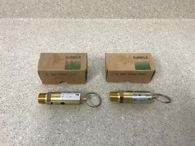 Kunkle 0548-C01-KM Relief Valve NEW (Lot of 2)