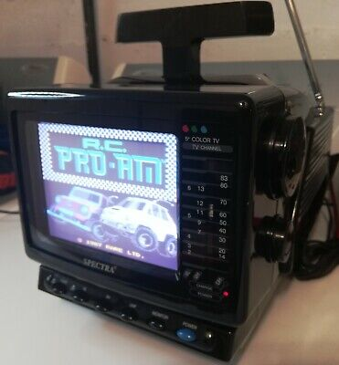 Vintage Spectra 5 inch Color TV with Composite Video Input