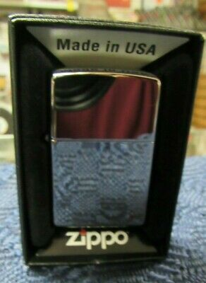 Zippo Windproof High Polished Chrome Lighter, New In Box - FREE SHIPPING !!