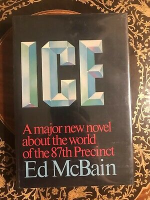 Ice *SIGNED* By Ed McBain 1st Ed/1st Printing HCDJ NF/NF 1983