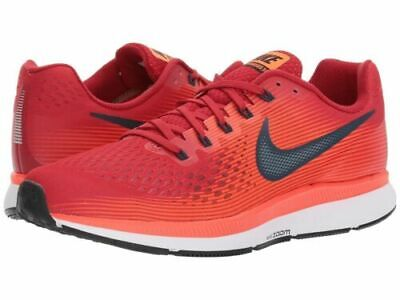 new arrival dcf90 f3f79 Nike PEGASUS 34 rouge 44,5 45 hommes running chaussures course à pied cap  TBE