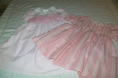 Baby girls clothes Bambini/Next smocked dress12-18m- combined postage available