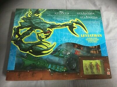 Disney Atlantis The Lost Empire - Leviathan Action Set / Playset - Mattel 29318