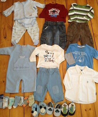 Great Large Baby Boy Clothes Bundle 3-6/6-9 Mths