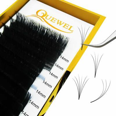Thickness 0.07mm Russian Volume Premade Fans Eyelash Extensions C  (0.07C, 16mm)