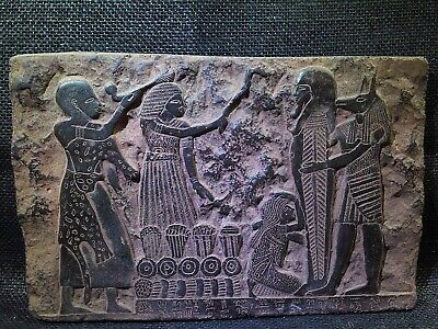 EGYPTIAN ANTIQUE ANTIQUITIES Anubis Mouth Ritual Stela Stele 1306-1292 BC