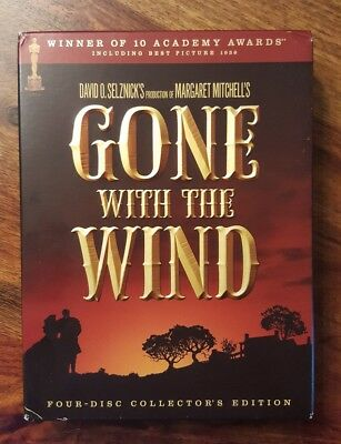 Gone with the wind (4 disc collector's edition)(region 1 dvd set)
