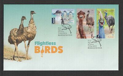 Australia 2019 : Flightless Birds - First Day Cover, Mint Condition