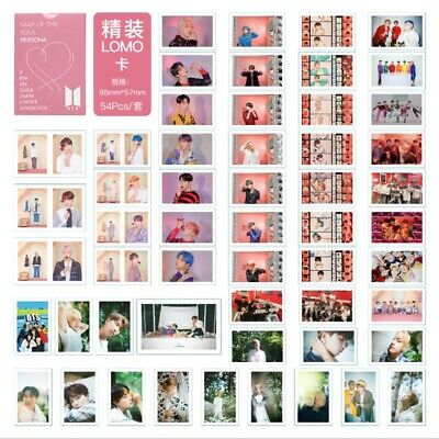 Kpop BTS Map of The Soul: Persona Paper Lomo Photo Card Album Potocard Poster